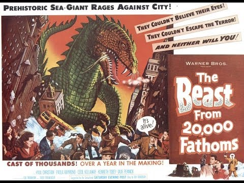 The Beast from 20,000 Fathoms is listed (or ranked) 9 on the list Movies Written By Ray Bradbury