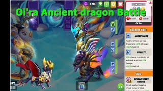 Oi'ra Ancient dragon in Elite Arena-Dragon Mania legends | Legendary King Complete | DML