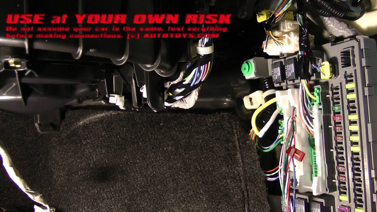 ACURA MDX COMPUSTAR INSTALLATION REMOTE START USE AT YOUR OWN RISK ...