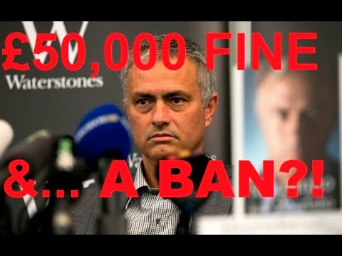 Mourinho Stadium Ban Reaction! | Daily Blues