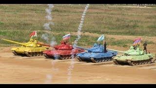 Финал танкового биатлона