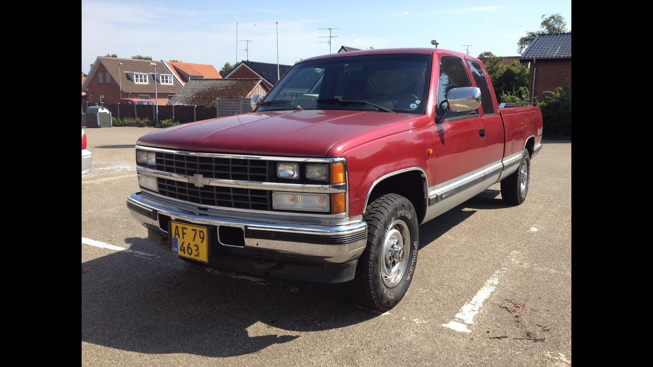 1990 Chevrolet K2500 Silverado 6,2l sel - YouTube