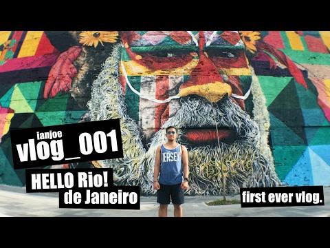 Hello Rio! - de Janeiro - | Vlog_001 Travel Brazil | MY FIRST VLOG EVER