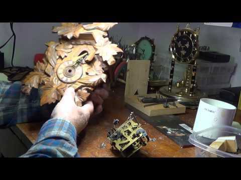 Repair of Cuckoo Clock That Won't Shut Up