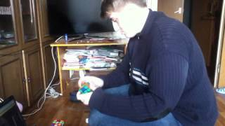 Кшиук собирает кубики