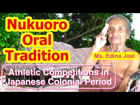 Account of Athletic Competitions during the Japanese Colonial Period, Nukuoro