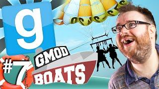 GMod Boats #7 - Parasailing Simon (Garry's Mod)