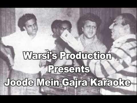 Joode mein gajra mut bandho karaoke by Warsi's production