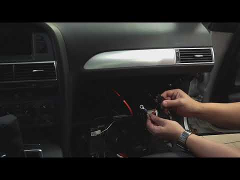 AUX & Bluetooth Audi MMI 2G installation