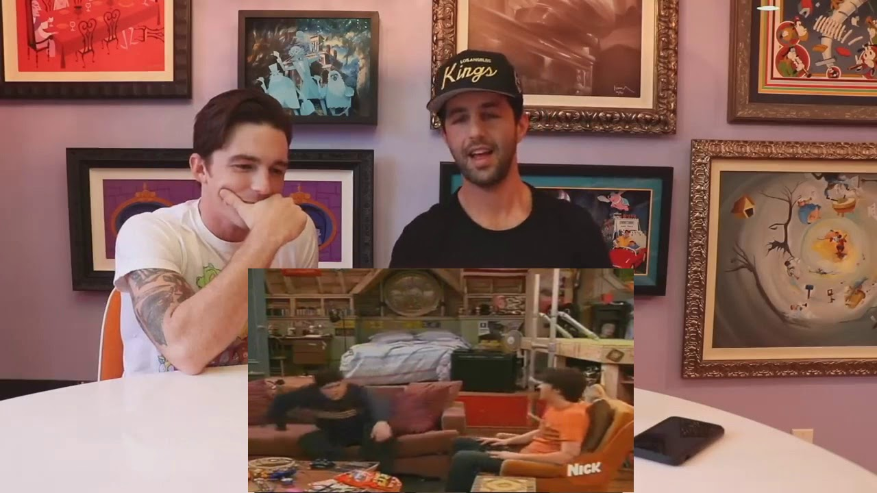 Drake And Josh React To The Bet Edited Youtube