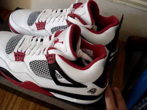Air Faux Jordan Iv Mars Blackmon