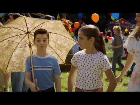 Young Sheldon S03E06 Missy Hitting Pastor Jeff In Dunktank