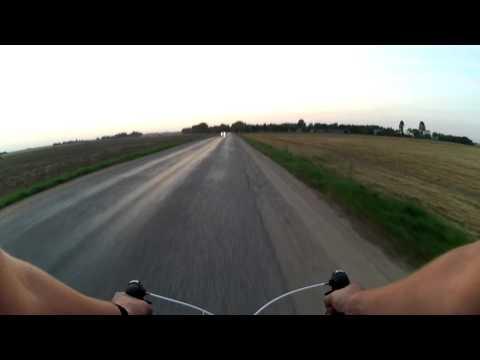 Road bicycle: Vilkaviškis surroundings