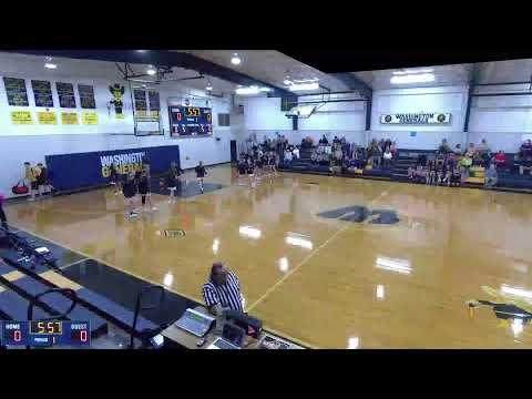 Washington  vs. North Sunflower Academy JV Mens' Basketball