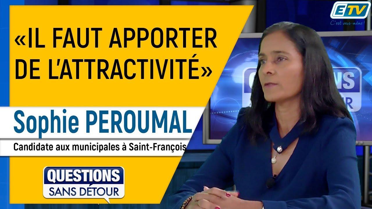 Questions Sans Détour avec Sophie PEROUMAL