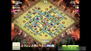MOVE YOUR WIZARD TOWERS, or get 3 starred | 奉天 Fengtian vs 300! #3 | Clash of Clans