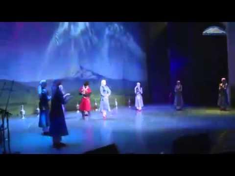 GFEA Balkariya Karachaevo balkarskii narodnyi tanec Sandyrak
