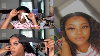 HOW TO MELT YOUR LACE FRONTAL LIKE A PRO😏