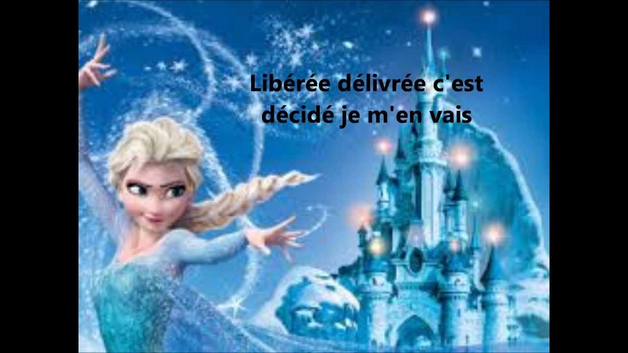 Lib r e d livr e avec paroles la reine des neiges youtube - Film en streaming la reine des neiges ...