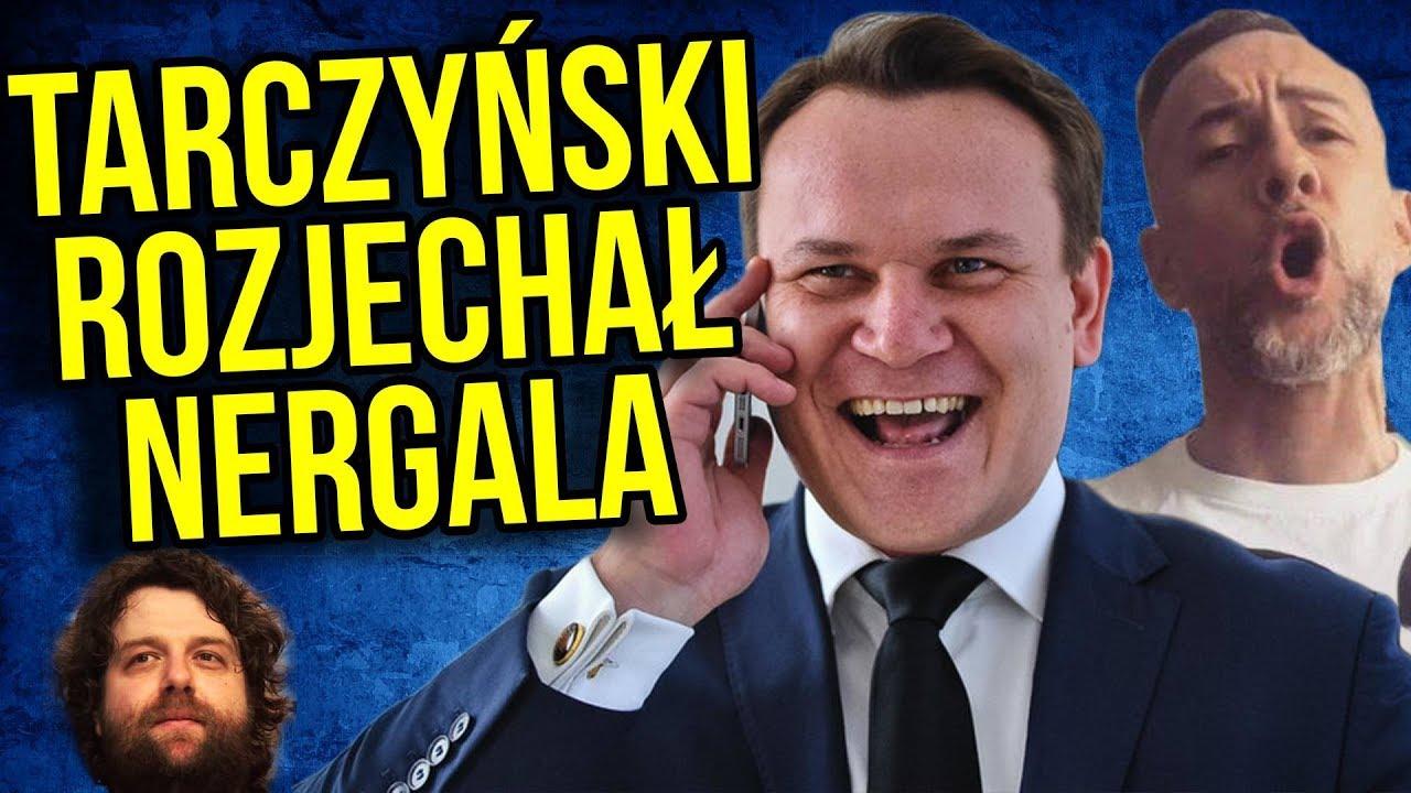 Dominik Tarczyński PIS i Rozjechał Nergala z BEHEMOTH za Obrażanie Chrześcijan z Polski