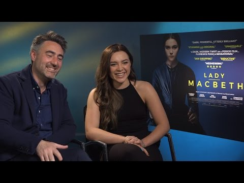 Florence Pugh and William Oldroyd - Lady Macbeth Interview EXCLUSIVE