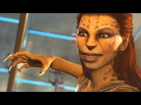 Injustice 2 - Wonder Woman vs Cheetah (Story Battle 44) [HD]
