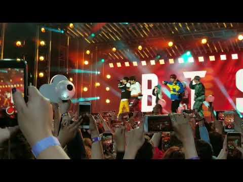 "BTS Mini Concert Performing "" I Need U "" At Jimmy Kimmel Live.  171115"