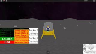 Roblox - Apollo 11 Part 1 (With actual audio)