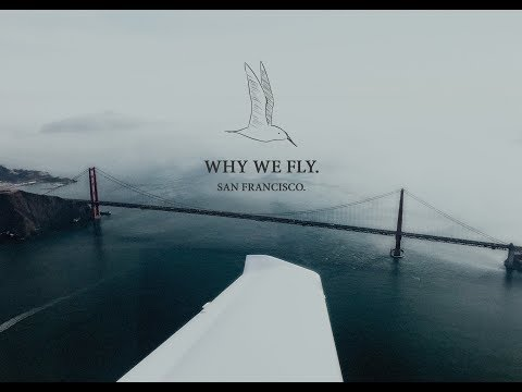 Why We Fly: Golden Gate Bridge, San Francisco, Point Reyes in a Diamond DA40