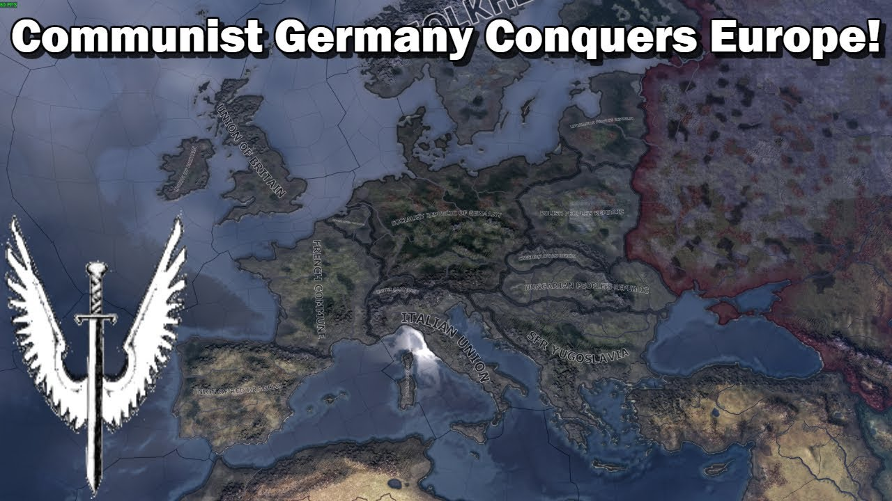 Forming and Expanding the Socialist Republic of Germany