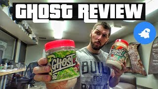 GHOST LIFESTYLE SOUR CHERRY WARHEAD PRE-WORKOUT & CEREAL MILK WHEY PROTEIN REVIEW