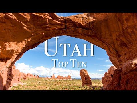 Top 10 Places To Visit In Utah