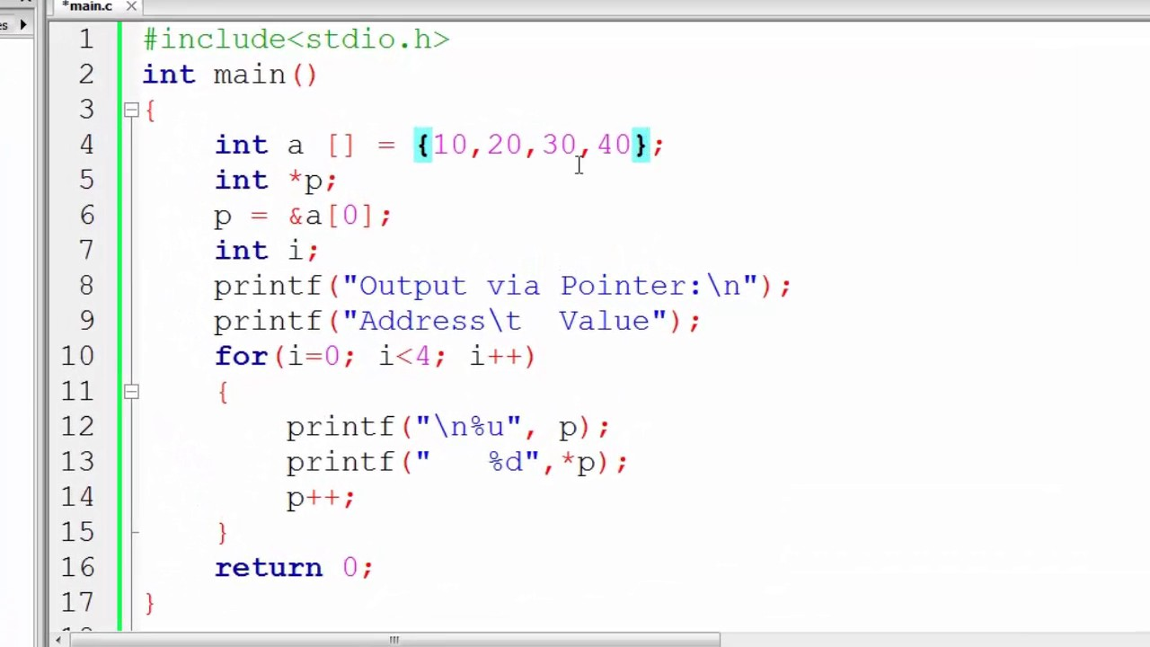 A++ 150 Increment And Decrement Pointer In C Programming Hindi
