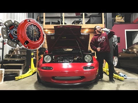 TIME TO TURN THE BOOST UP - TURBO MIATA