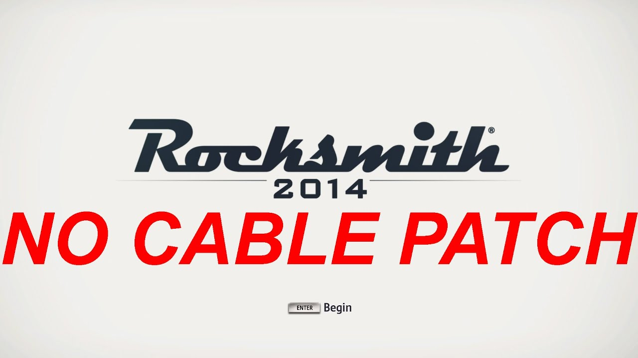 Rocksmith 2014 no cable patch - YouTube