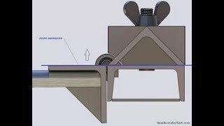 Как согнуть листовой металл своими руками листогиб