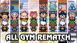 Pokémon Emerald - All Gym Leader Rematch (Final)