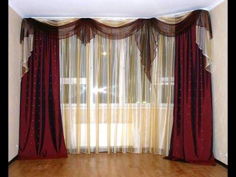 шторы фото в зале