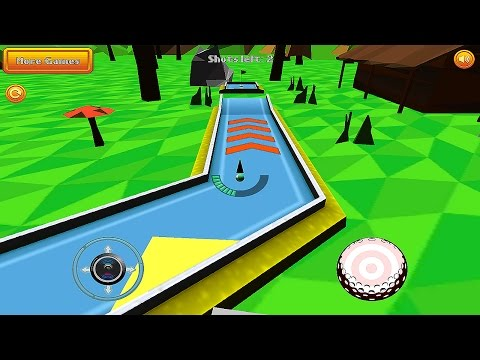 Mini Golf Retro - Gameplay Android