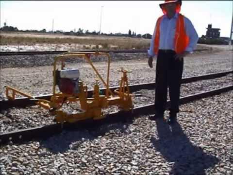 MP 23 Profile Rail Grinder - Geismar Modern Track Machinery, Inc.