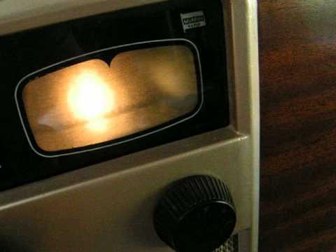 DABHANDRADIO...  The Vintage  MURPHY Radio 1950's Projector Screen Dial!!