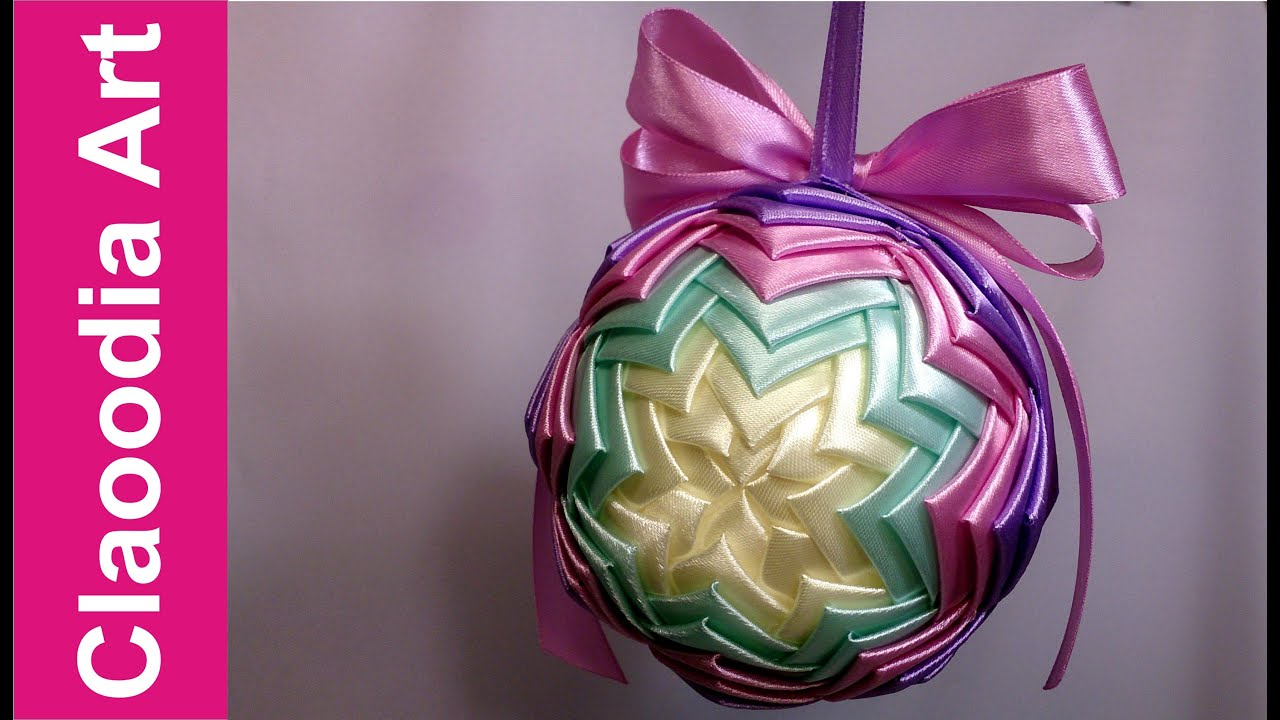 Bombka Karczochowa Ribbon Bauble Youtube