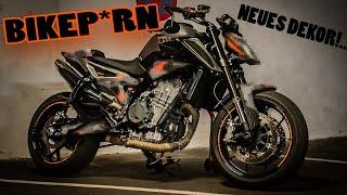 BIKEP*RN | Neues Dekor!... KTM Duke 790 | Schrauber Video
