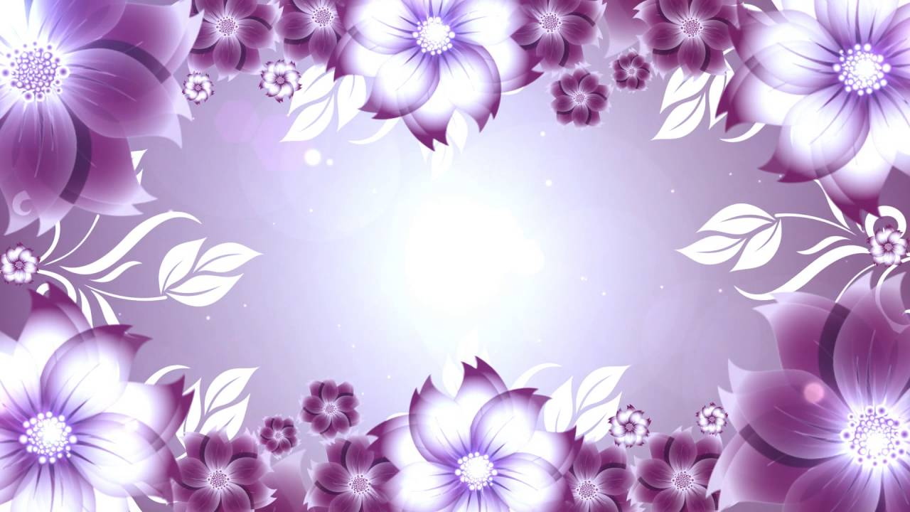 Flower Background Full Hd Video Background Motion Graphics