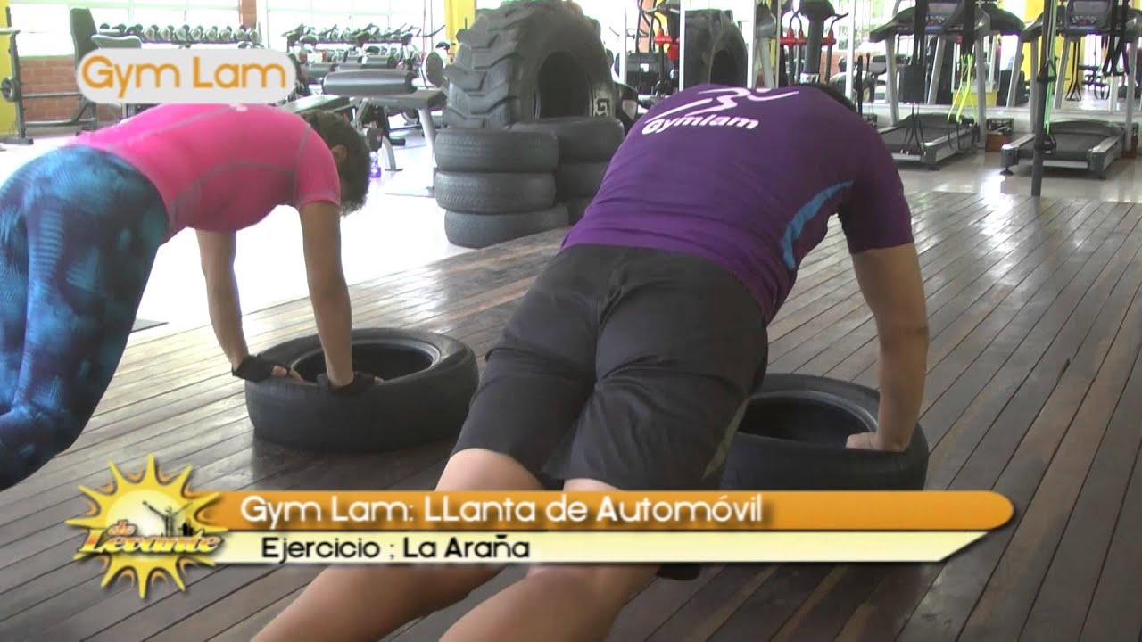 Gym lam llanta de automovil ejercicio la ara a youtube for Gimnasio 7 de fitness badalona