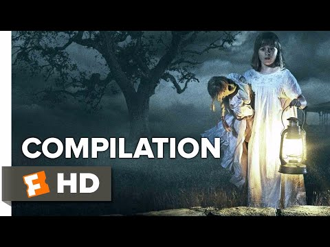 Annabelle: Creation ALL Trailers + Clips (2017) | Movieclips