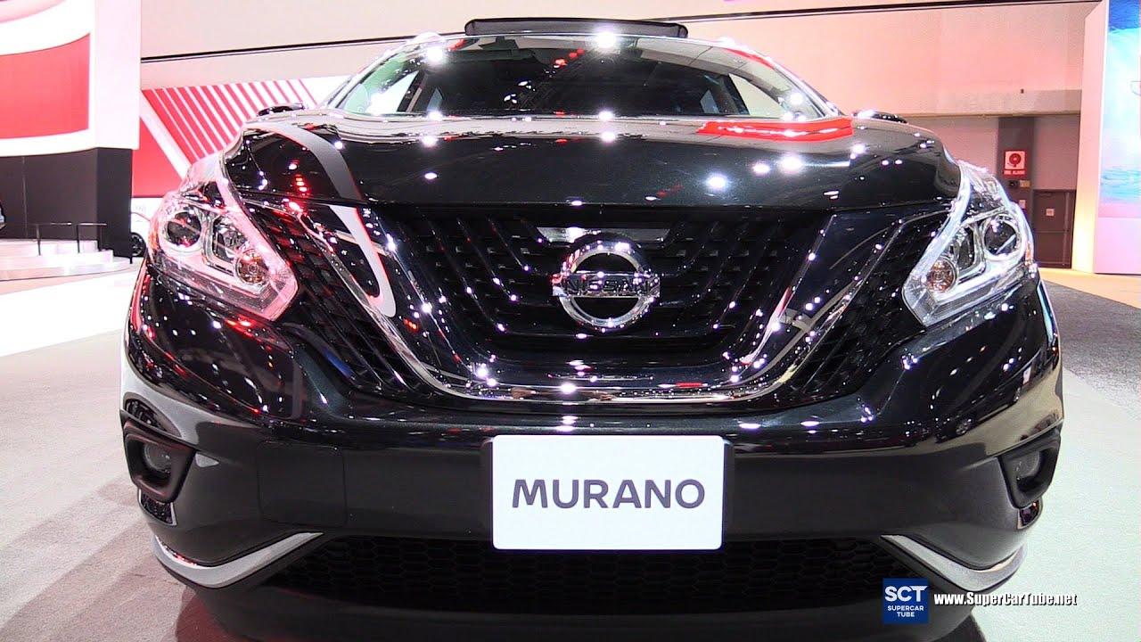2016 Nissan Murano Sv Exterior And Interior Walkaround 2017 La Auto Show