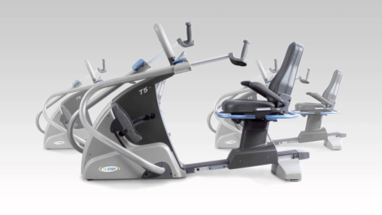 Nustep T5 Recumbent Cross Trainer Elliptical Youtube