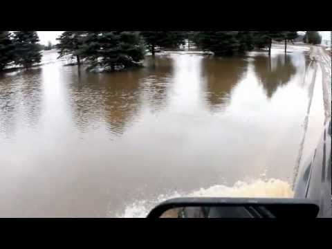 Flooding in Lincoln Township, Isabella County, MI | 03/11/13