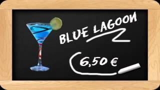 Les cocktails maison au bar du camping Campéole Montalivet Médoc Plage